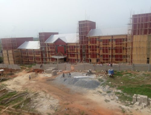 Students' Hostel Undergoing Completion