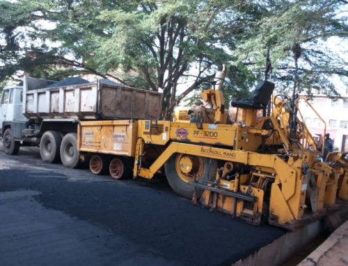 Asphalting of Grundtvig Polytechnic Campus Roads